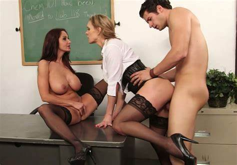 Classroom Student In A Threesome Twins Piano Trainer Tanya Tate Plans On Banging Her Dolly
