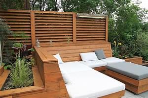 terrasse bois moderne wrastecom With idee deco maison neuve 10 amenagement dune terrasse en bois composite gris