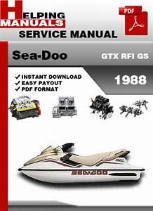 Sea-doo Gtx Rfi Gs 1998 Service Repair Manual Download