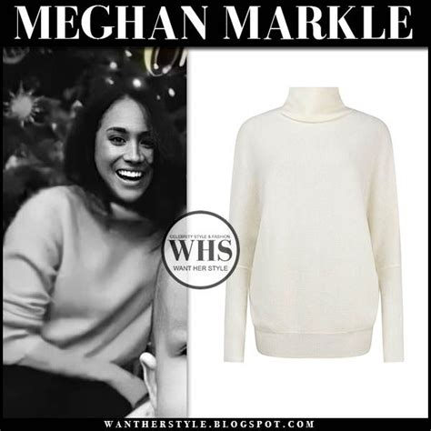This site is in no way affiliated with meghan markle, the duchess of sussex, the sussex press team, buckingham palace, the british royal family, or any other relation to the aforementioned. Meghan Markle in cream funnel neck sweater Sussex's family Christmas card 2019 #meghanmarkle # ...