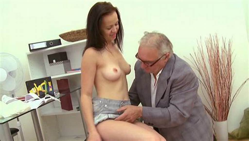 #Ugly #Old #Man #Polishes #And #Fucks #Teen #Pussy #Of #Sexy #Brunette