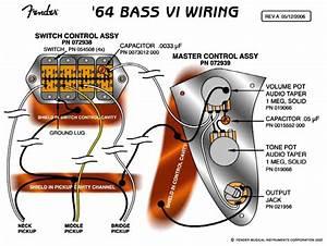 Fender Mustang Wiring Diagram