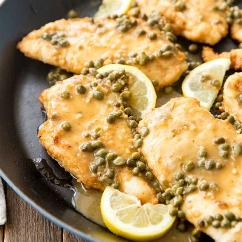 Chicken Piccata Real Housemoms