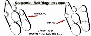 1999 Chevy Cavalier Serpentine Belt Diagram