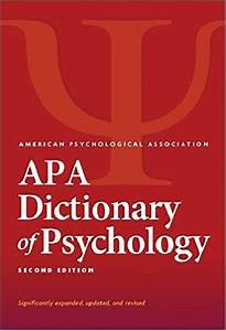 Download Apa Dictionary Of Psychology