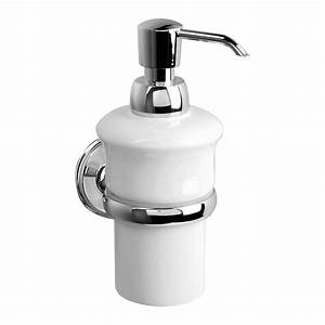Home Decor Alluring Wall Mounted Soap Dispenser Perfect