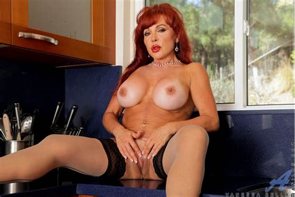 #Classy #Redhead #Milf #Babe #Strips #Her #Expensive #Lingerie #And