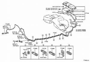 Lexus Is 300 Clamp  Fuel Tube With Grommet  No  5  Tank