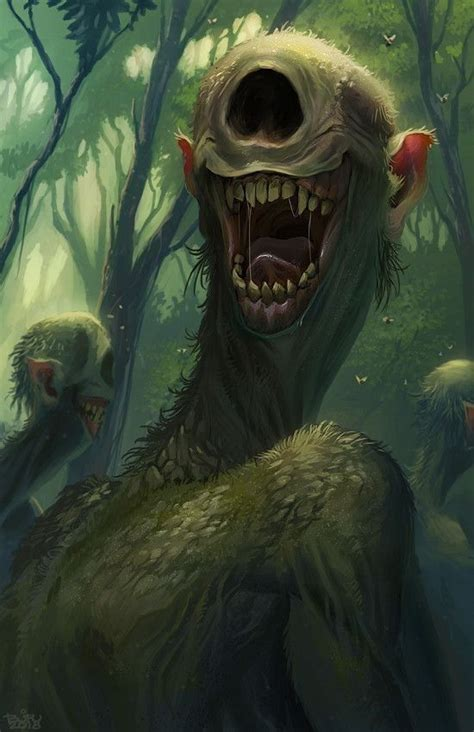 Are miles more of horrors out there that are only implied. Fantasy monster by dylan on dnd stuff | Dark fantasy art, Fantasy creatures