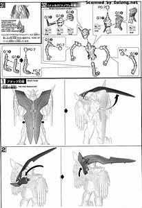 Hg Gundam The End English Manual  U0026 Color Guide
