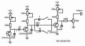Delay Pedal Schematic Simple