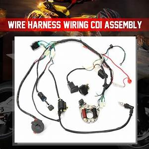 1 Set Wire Harness Wiring Cdi Assembly For 50  70  90  110cc