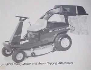John Deere Rx73 Rx75 Rx95 Sx75 Sx95 Riding Lawn Mower