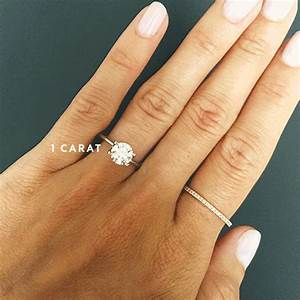 A Side-by-Side Carat Comparison of Different Engagement ...