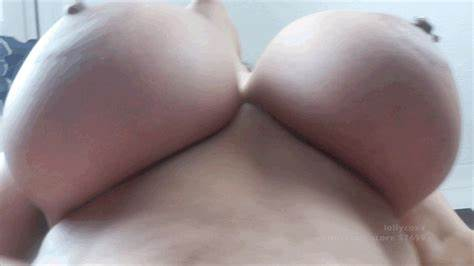 Fat Breasts And Puffy Nipples On A Cocksucker