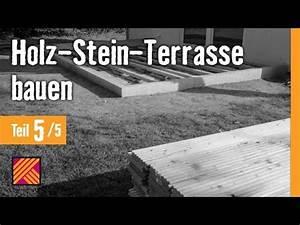 Terrasse Holz Stein : version 2013 holz stein terrasse bauen kapitel 5 holz terrassendielen verlegen youtube ~ Watch28wear.com Haus und Dekorationen