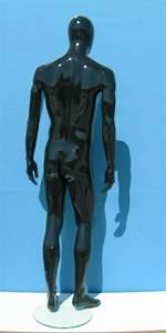 2791 Manichino Testa Uovo Stilizzato Laccato Lucido Uomo