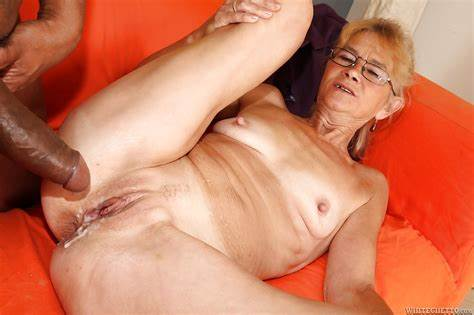 Wet Granny In Glasses Fuck The Man