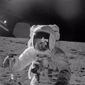 Apollo 12 Astronaut Alan Bean as photographed by Astronaut ...
