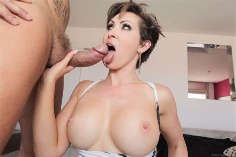 Shorthair Milf With Giant Breast Takes Bbc