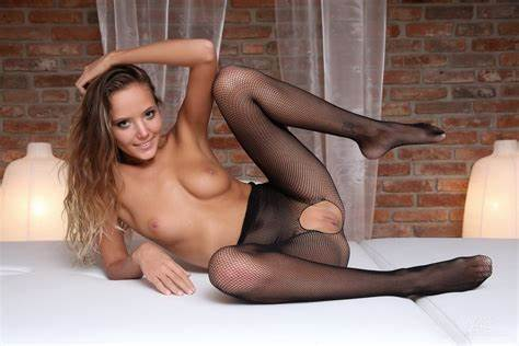 Comely Nylons On Teenagers