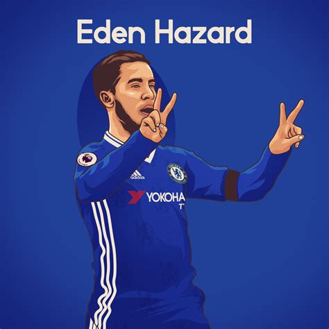 Shop unique custom made canvas prints, framed prints, posters, tapestries, and more. Eden Hazard by dicky10official on DeviantArt