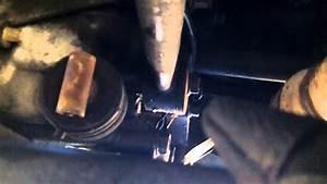 Mazda 626 - Shift Linkage Removal