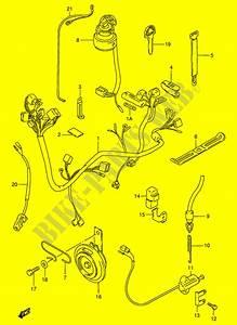 Faisceau Electrique  Modele N  R E30  Pour Suzuki Gn 125
