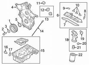 Ford Flex Engine Oil Pan