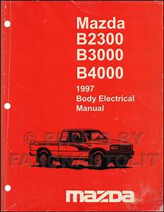 1997 Mazda Truck Body Electrical Troubleshooting Manual