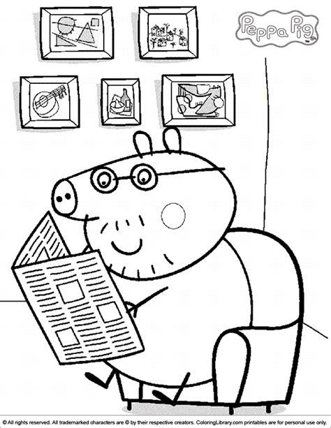 Peppa Pig coloring page Peppa pig coloring pages Peppa