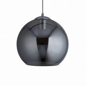 Pendelleuchte Kugel Kupfer : kugel pendelleuchte balls rauchglas 25 cm wohnlicht ~ A.2002-acura-tl-radio.info Haus und Dekorationen