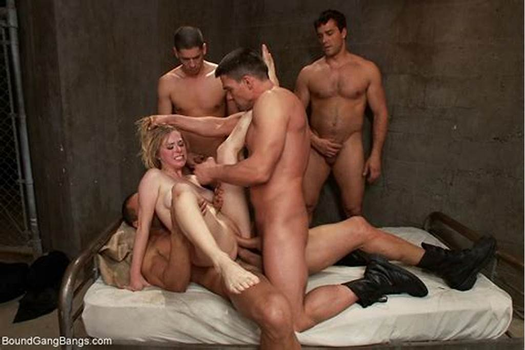 #Babe #Gets #Tied #And #Brutally #Fucked #By #The #Corrupt #Gang #Of