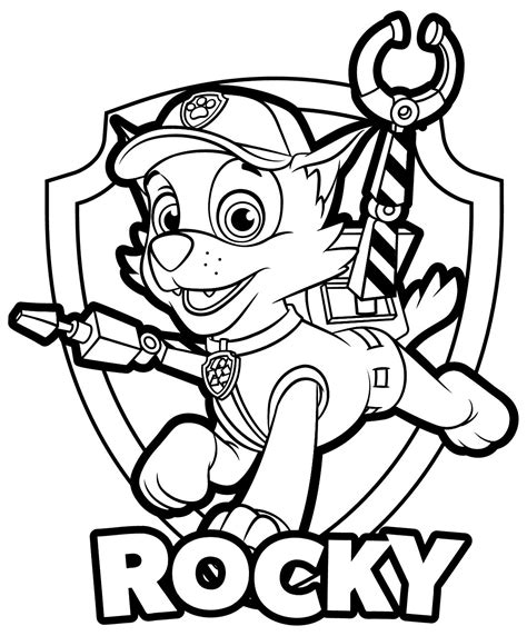 Paw Patrol Coloring Pages Paw Patrol Coloring Pages Free