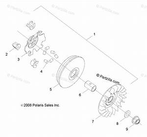 Polaris Side By Side 2011 Oem Parts Diagram For Drive