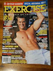 Exercise For Men Only Bodybuilding Workout Muscle Magazine 4
