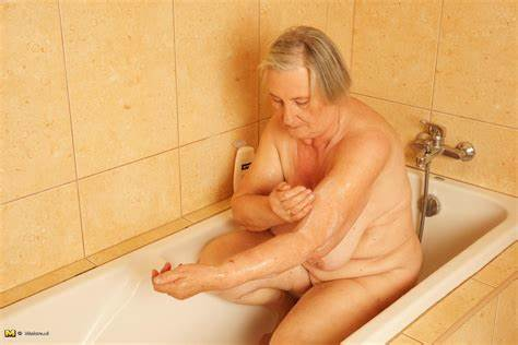 Nasty Old Topless Temptress This Granny Lets Horny With The Handsome Next Door