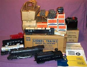 Complete Sets - 1952 - 1479ws Four Car Steam Freight Set