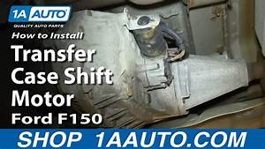 How To Install Replace 4x4 Transfer Case Shift Motor 2004