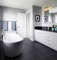 wall tile designs Top and Simple Black and White Bathroom Ideas