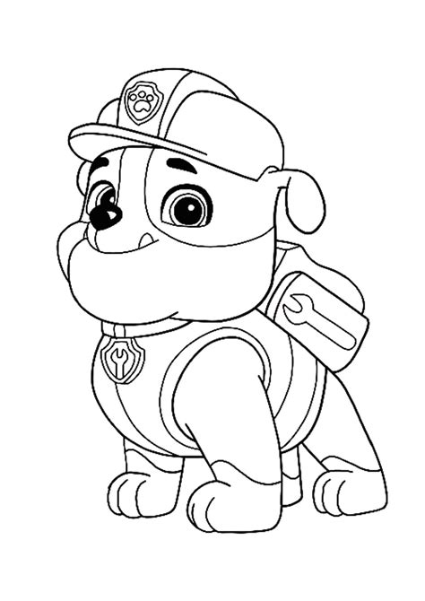 You can find here 4 free printable coloring pages of Paw