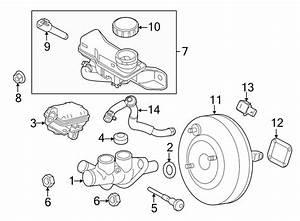 Ford Fusion Brake Master Cylinder Reservoir Pin  2 5 Liter