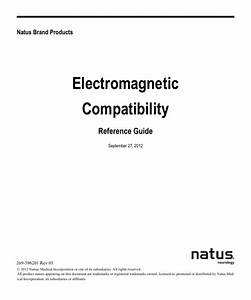 Natus Electromagnetic Compatibility Reference Guide Rev 05