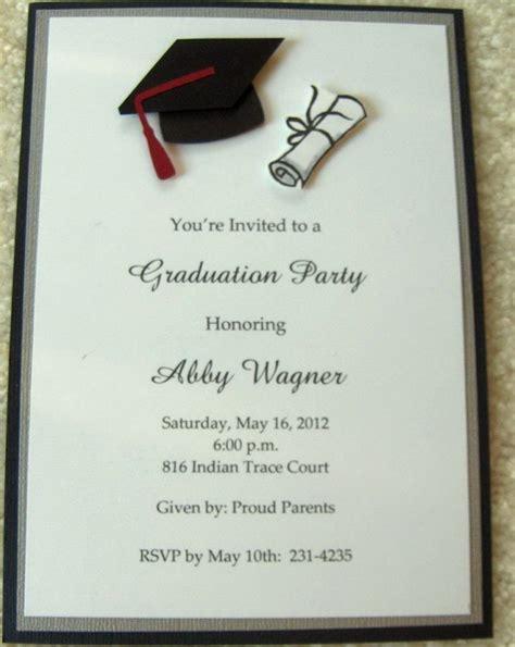 Graduation Invitation Samples All About Invitation