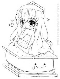 10 Best Images About Kawaii Coloring Pages