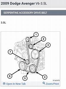 Serpentine Belt Diagram   We Changed The Alternator And Forgot How