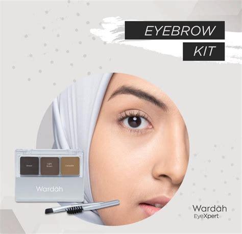 Wardah eyexpert eyebrow kit sekilas mirip dengan packaging eyeshadownya, yg bedain adalah ada concealernya yang berbentuk cream. Rekomendasi Eyebrow Kit Lokal Paling Cocok untuk Travelling