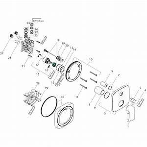 Hansgrohe Metris  Single Lever Manual Bath Mixer Soft Cube