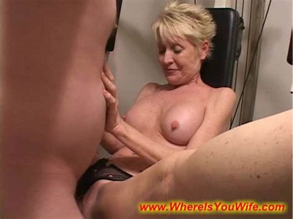 #Seductive #Blonde #Mature #Housewife #Enjoys #Fucking #With #A #Strange #Man
