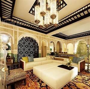 decoration maison dans style marocain 33 idees inspirantes With decoration de maison marocaine